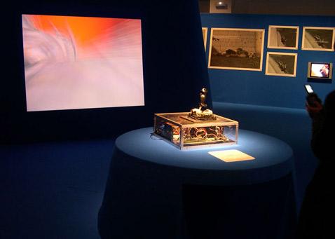 nOtbOt прямо-таки создан для выставочного зала (фото с сайта lowstandart.net).