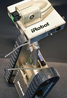 Так будет выглядеть первый робот, оснащённый стреляющим электрошоком (иллюстрация Taser International).