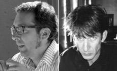 """Разобраться в художественных концепциях немца Олафа Арндта (слева) и голландца Монена (справа) нелегко. Однако в """"Беззвучной комнате"""" их идеи как будто бы дополнили друг друга, и всё стало на свои места (фото с сайтов ifg-ulm.de и on1.zkm.de)."""