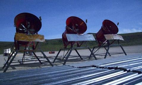 Земля застелена, вентиляторы установлены— можно зажигать (фото с сайта simnuke.org).