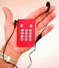 Одноразовый мобильник. О том, насколько такие телефоны популярны, сведений нет.