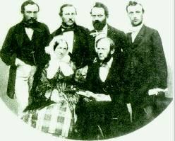 Семья Сименсов, 1860 г.