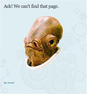 404 ошибка на Pownce